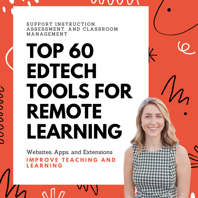Top 60 Edtech Tools for Remote Learning and Face-to-Face Instruction – Saved By the Beldin